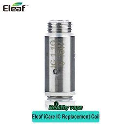 Wholesale Ismoka Mini - Original iSmoka Eleaf IC Coil Head 1.1ohm Replacement Coils For iCare Kit iCare Mini Kits