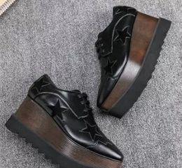 Wholesale Europe New Wedges - new free shipping Europe Station Stellat Mccartney Elyse Women Wedge Shoes Platform