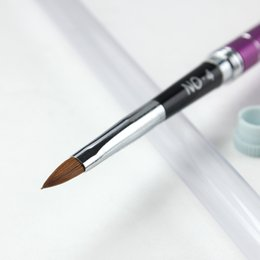 Wholesale Gel For Nails Kit - Wholesale- Gel Nail Polish Nail Art Drawing Painting Pen Liner Brush For Salon Professional Nail Manicure Use Tool Kit