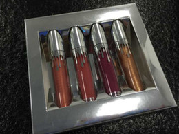 Wholesale Family Christmas Holiday - 4pcs set New holiday collection lip kit The Family Collaboration kollaborald Metal Matte lipstick KHLOE Christmas gift