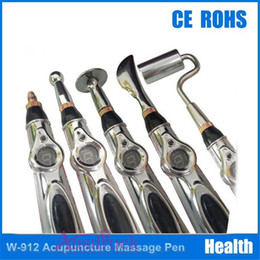 Wholesale Hot selling tips tips Bio feedback pain relief therapy needle acupuncture point device meridian energy pen with retail box fast shipping