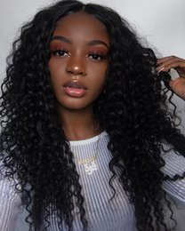 Wholesale Hair Bun 12 - Human Hair Lace Wig Curly Lace Front Wigs With Half Buns Brazilian Full Lace Wig For Blackwomen And Pre Plucked Natural Hairline