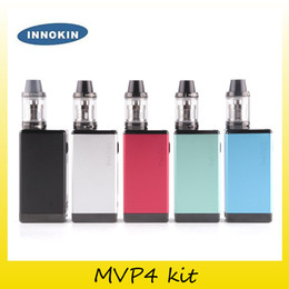 Wholesale Innokin Itaste Mvp Kit - Original Innokin iTaste MVP4 100W TC Starter Kit 4500mah Battery Power Bank Aethon Chipset MVP 4.0 Vapor TC Box Mod 100% Genuine 2201072