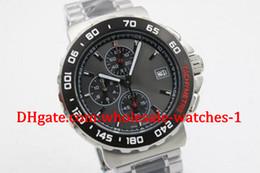 Wholesale Luxury Black Calibre 16 - Free original box and papers luxury brand watch calibre 16 new limited quartz chrono mens watch sapphire glass original clasp sports TWO TOM