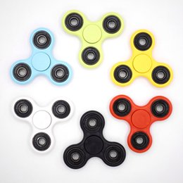 Wholesale Rubber Tv - Hot Toy EDC Hand Spinner Fidget Toy Good Choice For Decompression Anxiety Finger Toys For Killing Time Shipping Free