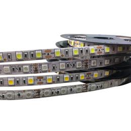 rote gelbe led-streifen wasserdicht Rabatt LED-Streifen-wasserdichtes 5050 fiexible Licht 60Led / m, 5m 300Led, DC 12V, RGB.White, warmes Weiß, Rot, Grün, Blau, Gelb, freies Verschiffen