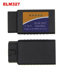 software de programación bmw Rebajas ELM327 v1.5 wifi OBD OBD2 Escáner de diagnóstico para coches Elm 327 wifi 1.5 OBDII WIFI Scanner para Android / IOS V 1.5 inalámbrico Envío gratuito