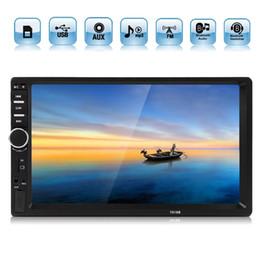 auto armaturenbrett tvs Rabatt 7 Zoll 2 DIN Bluetooth In Dash Touchscreen Auto Audio Stereo MP3 MP5 Player USB CMO_20O