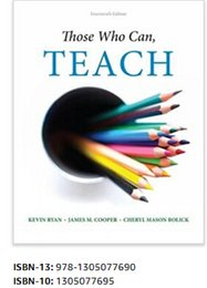 Wholesale Those Who Can Teach th Edition ISBN Books Book hot item