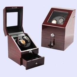 Wholesale Watch Switches - Shaking table automatic watch display box electric Watches box touch switch box