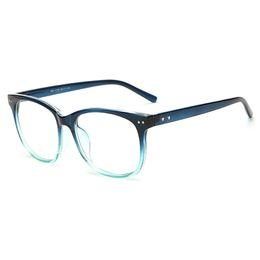 Wholesale Nerd Clear Lens Glasses - Wholesale- OUTEYE Vintage Clear Lens Eye Glasses Frames Men Women Transparent Fake Gasses Round Optical Eyeglasses Nerd Eyewear Spectacle