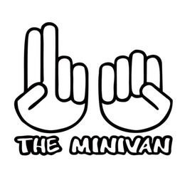 Wholesale Sex Roof - For The Minivan Shocker New Funny Nude Adult Car Styling Vinyl Decal Jdm Art Sticker Sex Mini Van Accessories Decor