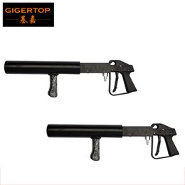 Wholesale Pistol Prices - By fedex 2pcs lot Cheap Price Handhold Co2 Gun DJ Light,3 Meter Hose Hi-Quality Gun Pistol CO2 Stage Light Without Power Stage CO2 dj cannon