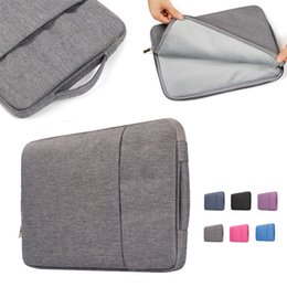 Wholesale Ipad Fabric Cases - Notebook Jean Carrying Case Briefcase Laptop Bag For ALL Laptop 11 13 15 11 inch 13 inch 15 inch Mac Pro Acer Asus Dell Lenovo HP opp bag