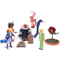 Wholesale Pvc Little Prince - Little prince action figure dolls cartoon ornaments the 8-11 cm le Petit Prince model doll collection Free Shipping
