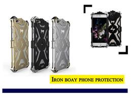 Étui en métal iphone metal en Ligne-Nouveaux cas en aluminium de téléphone portable en métal de Thor d'aviation pour iphone 6 6plus de haute qualité Iron Body Premium Case gratuit DHL