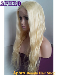 Wholesale White Women Human Hair Wigs - Premium 613 Platinum Blonde Virgin Human Hair Silk Top Full Lace Wigs 130% Density Blonde Brazilian Glueless Lace Front Wigs For White Women
