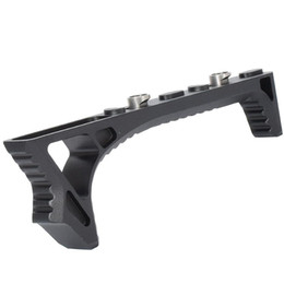 Wholesale Airsoft Handguard Rail - sinairsoft new strike industries link curved foregrip tactican cnc aluminum grip for keymod hole rail handguard airsoft hunting caza