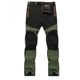 Wholesale Xs Power - Wholesale- Men Autumn Winter New casual waterproof Windproof and breathable Outside Trousers Tactical Cargo Pants handsome power men pants