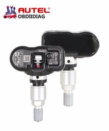 Wholesale Gms Wholesale - 4pcs Universal TPMS Sensor Autel MX-Sensor 315 433 MHz TPMS Tire Pressure Sensor for MxSensor MaxiTPMS Pad 315MH Tyre Sensors