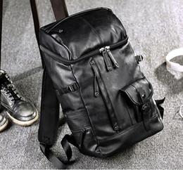 2019 mochila moda marcas Atacado marca mens bags moda grande capacidade de couro mochila britânica retro lazer homens mochila mochila de couro de viagem ao ar livre mochila moda marcas barato
