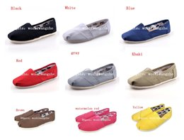 Wholesale Espadrille Men - New Unisex classic Brand Fashion Women Flats Shoes Sneakers Women and Men Canvas Shoes loafers casual shoes Espadrilles Size 35-45l