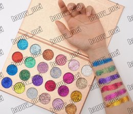 Wholesale Eyeshadow 24 Colors - Factory Direct DHL Free Shipping New Makeup Eye Cleof Cosmetics Glitter Eyeshadow Palette 24 Colors Pigmented Shimmer Eye Shadow!
