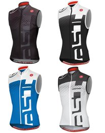 Wholesale Team Cycling Vests - Special offer 2017 hot top Cycling Sleeveless jersey bike tops sportswear three rear pockets vest Summer Pro team Jersey   maillot Ciclismo