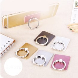 Wholesale Custom Iphone Color - Mobile phone ring mobile phone ring bracket metal lazy stent lazy ring buckle mobile phone bracket custom-made