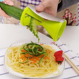 Wholesale Twister Cutter Kitchen Tools - Kitchen Cooking Tools Spiral Slicer Spirelli Grater Vegetable Julienne Easy Spiral Fruit Slicer Twister Cuisine Cutter
