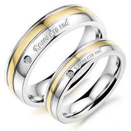 Fashion New Jewelry Titanium Steel Rings