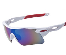 Wholesale Running Sunglasses Women - 2017 New Outdoor Sports Sunglasses Fashion Sport Glasses for Cycling Climbing Running Fishing Golf Eyewear 100% UV400