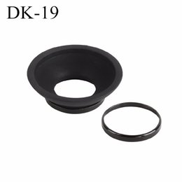 Wholesale Camera Eyecup - Free shipping DK-19 21 23 24 25 EF EB New Rubber EyeCup Eyepiece For NIKON Cannon camera please read DESCRIPTION