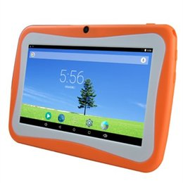 Wholesale Dual Core Machine - MP4, MP5 learning machine children's Tablet PC 7 inch Andrews quad-core student video player game Ebook wifi Bluetooth connection
