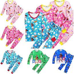 Wholesale Cheap Baby Sleepwear - moana kids clothing se tChristmas maui boys pajams baby girl outfits kids sleepwear nightwear homewear wholesale cheap price