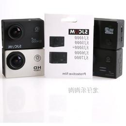 Atacado-Película de proteção de tela de câmera de esportes impedir que o filme protetor proteja coçar a tampa do post para SJ4000 SJ5000 + SJ6000 SJ7000 cheap camera film wholesale de Fornecedores de câmera filme atacado