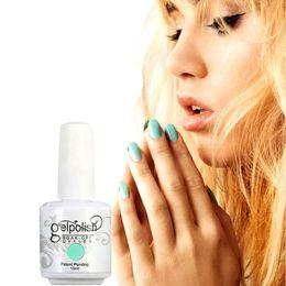 Wholesale Gelish Color Gel Nail Polish - Top quality nail polish makeup Harmony Gelish 100 Colors 15ml Gel Polish Nail Accessories UV Color Gel Soak Off Nail Gel