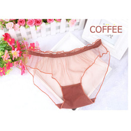 Wholesale Pantie Thongs - 1pc Sexy Women Lace Hollow Sexy Underwear Transparent Pantie Brief Thong Interior G-string