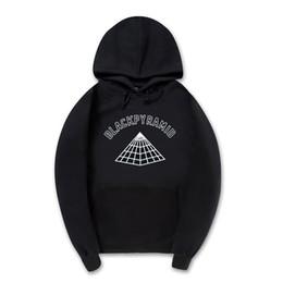 Wholesale Man Clothes Wholesaler - Wholesale- New MEN AND women Hoodies black pyramid sweatshirts Hip hop Streetwear brand clothing Hooded hooded sportswear