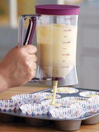Wholesale Popular Tools - Wholesale Popular DIY Tool 900ml Cupcake Pancake Batter Dispenser Muffin Helper Mix Pastry Jug Baking