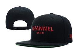 Wholesale Channel Caps - Ssur Channel Zero Snapbacks Fashion Club Snapback Sports Caps Hats Men Women Summer Beach Sun Hat Cool Party Cap