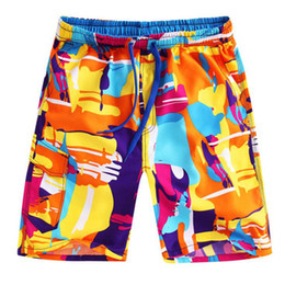 purple swim wear Coupons - Wholesale Mens board shorts summer surf shorts men running swimming trunks male swimwear shorts quick drying men's beach wear