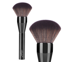 Wholesale Black Top Tools - Pro Powder Brush Super Large Face Makeup Brush Top Quality Synthetic Fiber Hair Beauty Tool