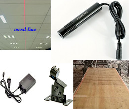 Wholesale Positioning Process - 650nm50-200mW red word line laser module large size sawn wood processing dust-proof Infrared cutting bed cutting positioning marker