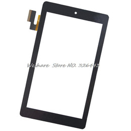 Wholesale Tablet Pc For Parts - Wholesale- 7 Inch OEM Compatible with SG5740A-FPC-V4-1 Touch Screen Digitizer Replacement Parts Without Speaker Hole For Tablet PC