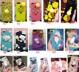Wholesale Vacuum For Iphone - 2017 new Cartoon Silicone Cellphone Case Back Cover for Iphone Stereo Squeezed Vacuum Tangle Stress ADHD Autism Sensory Reduce Stress cases