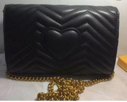 Wholesale Popular Designer Handbags - AAAA 2017 High Quality Women Leather Handbags Famous Brand Designer Chian Crosbody Bags for Women Single Shoulder Bag popular totes bag