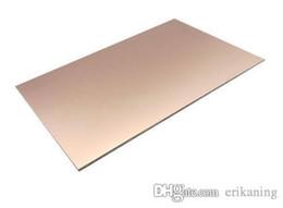 """Wholesale Fr4 Copper Clad - 5 pcs Double Side PCB Epoxy Fiber FR4 Copper Clad Plate Laminate 150*100*1.6mm (5 15 16"""" x 4"""" x 1 16"""") DIY"""