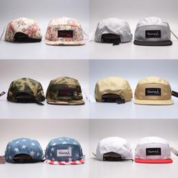 Wholesale Blank Panels Cap - Hot Diamond 5 Panel Hats Blank , Classic Flower Men's Snapback, women adjustable baseball caps , Embroidery Fitted Flat Hats