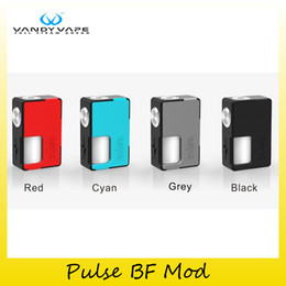 Wholesale Pulse Batteries - Authentic Vandy Vape Pulse BF Box Mod With Both 20700 18650 Battery VandyVape Mod For 510 Thread Tank Atomizers 100% Genuine 2250010